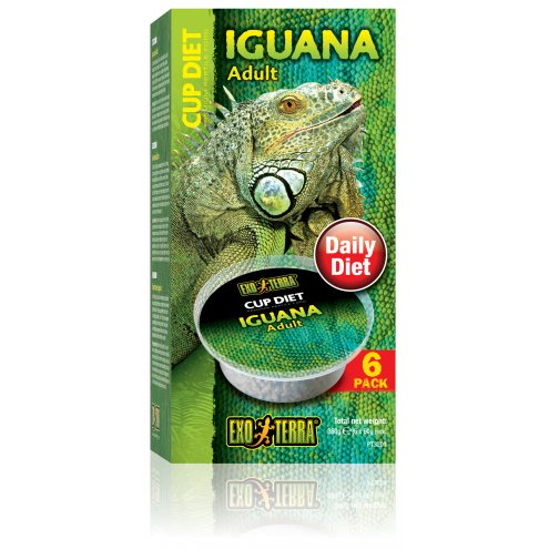 Exo Terra Cup Diets Adult Iguana 6x60g