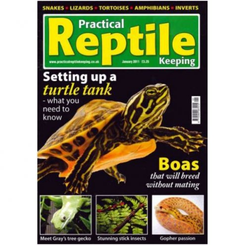 Practical Reptile Keeping JANUARY 2011