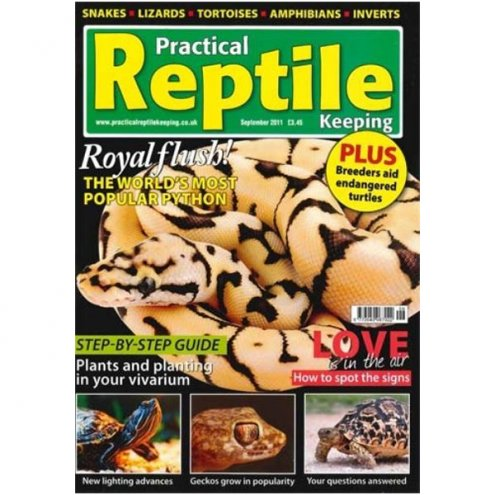 Practical Reptile Keeping SEPT 2011
