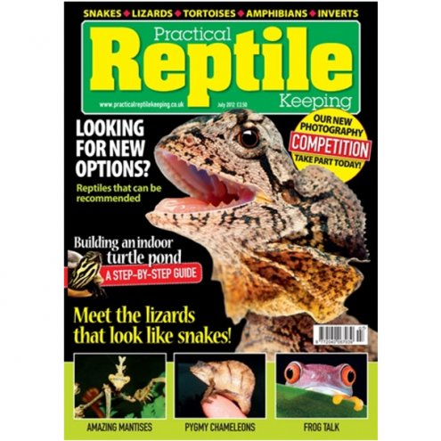Practical Reptile Keeping JULY 2012