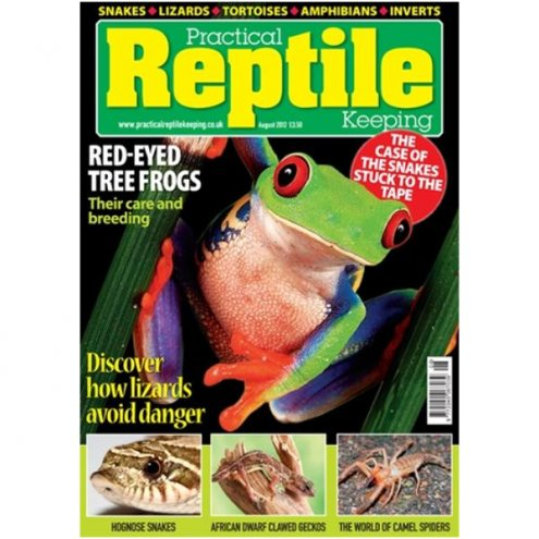 Practical Reptile Keeping AUGUST 2012