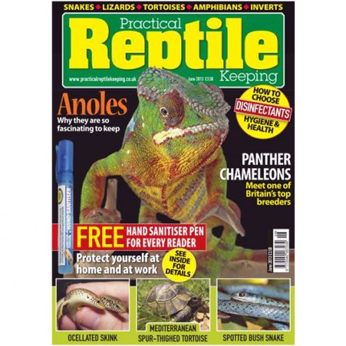 Practical Reptile Keeping JUNE 2013