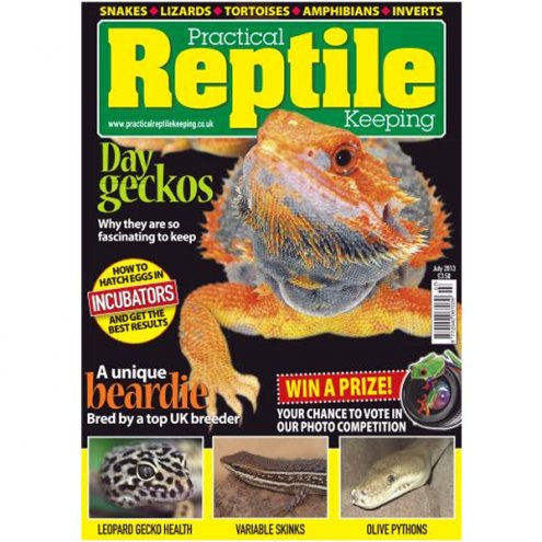 Practical Reptile Keeping JULY 2013