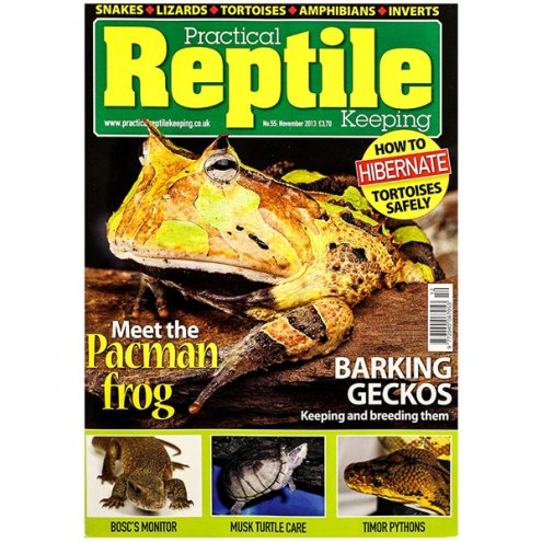 Practical Reptile Keeping NOVEMBER 2013