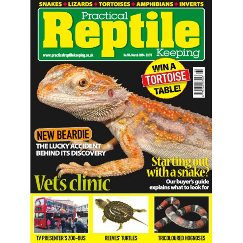 Practical Reptile Keeping MARCH 2014