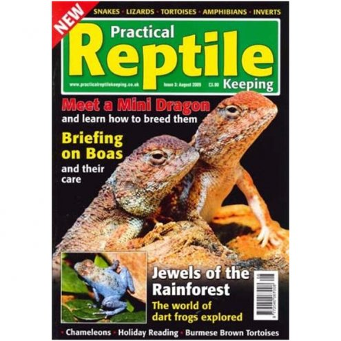Practical Reptile Keeping AUGUST 2009