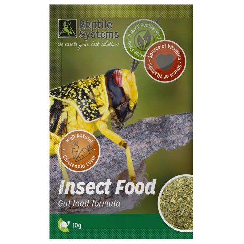 Reptile Systems Insect Food 10g
