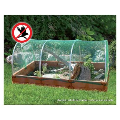 Juwel Outdoor Tortoise Run With Net - Terracotta