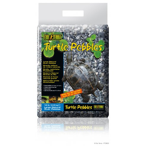 Exo Terra Turtle Pebbles Large 10-20mm 4.5Kg