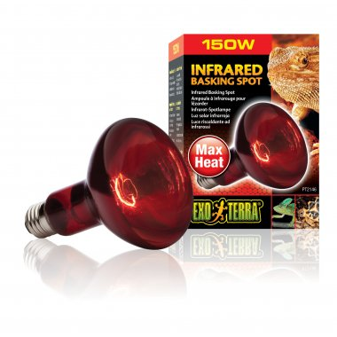 Exo Terra Infrared Basking Spot Lamp 150W