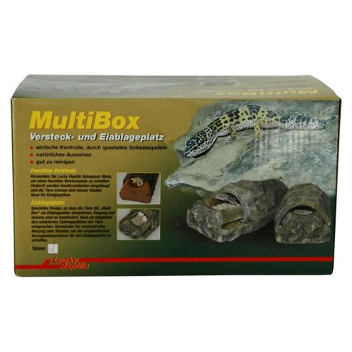 Lucky Reptile Multi Box Stone large