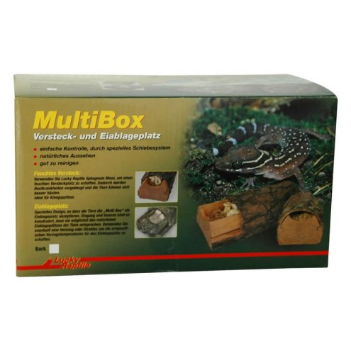 Lucky Reptile Multi Box Bark medium