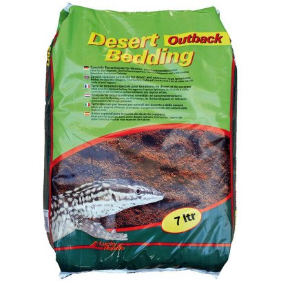 Lucky Reptile Desert Bedding Outback Red 7L