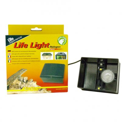 Lucky Reptile Life Light - Halogen rectangular