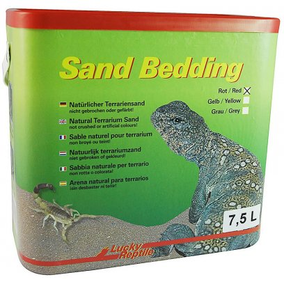 Lucky Reptile Clay Sand Bedding Red 7.5L