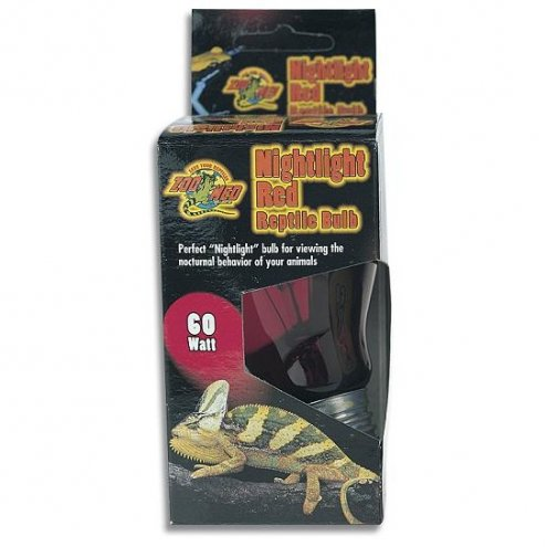 Zoo Med Nightlight Red Reptile Bulb 60W