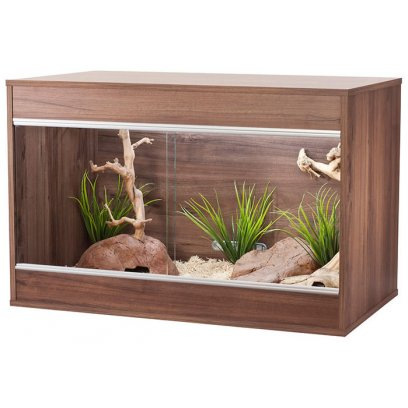Vivexotic Repti-Home Vivarium - Maxi Medium Walnut 86x49x56cm