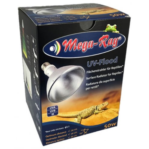 Mega Ray Metal Halide Lamp 50w 5K Wide Beam