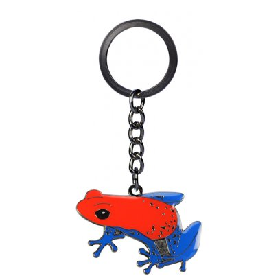 Blue Bug Metal Keyring Pumilio