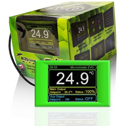 Microclimate Evo Digital Thermostat Green