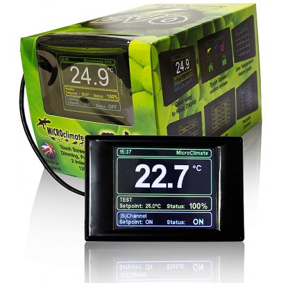 Microclimate Evo Digital Thermostat Black