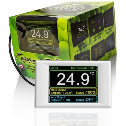 Microclimate Evo Digital Thermostat White