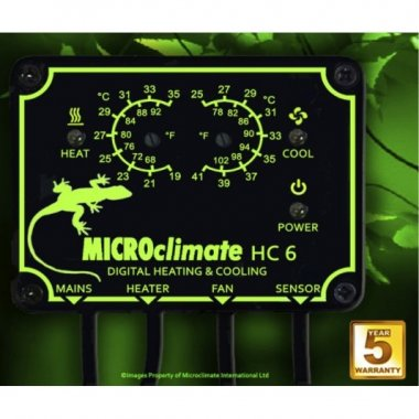 Microclimate HC6 Heat/Cool Twin Thermostat