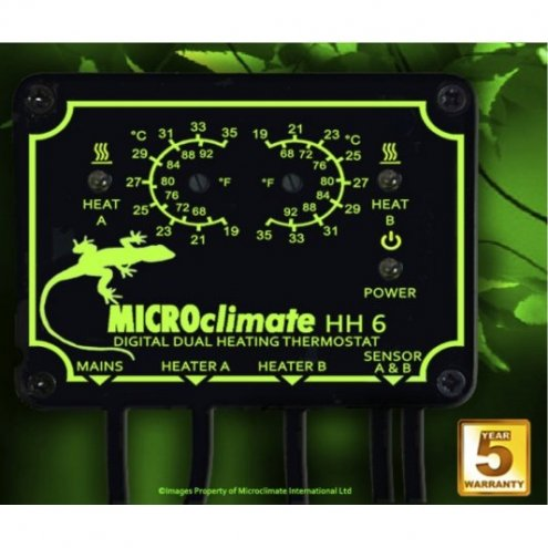 Microclimate HH6 Twin Thermostat