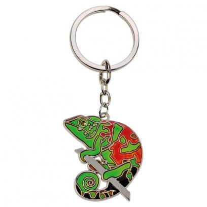 Blue Bug Mood Keyring Chameleon