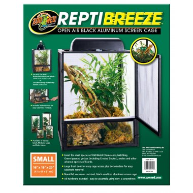Zoo Med ReptiBreeze Screen Cage 40x40x50cm