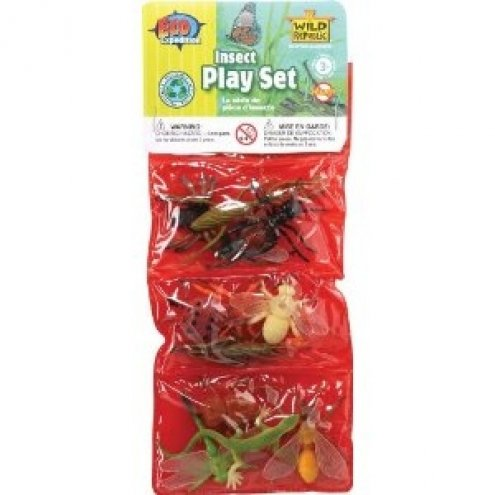 Wild Republic Plastic Toys Playset: Insects
