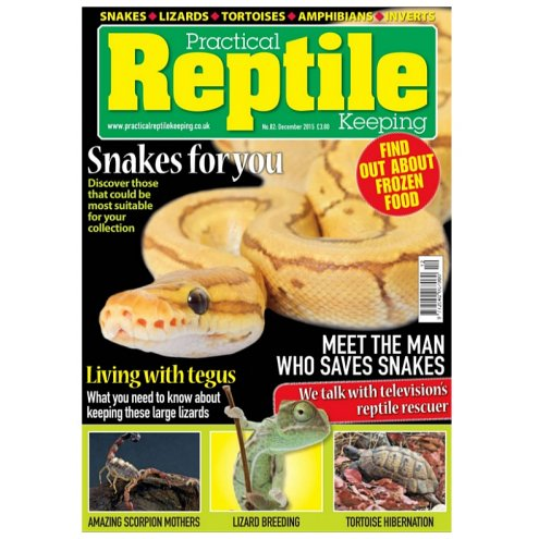 Practical Reptile Keeping December 2015