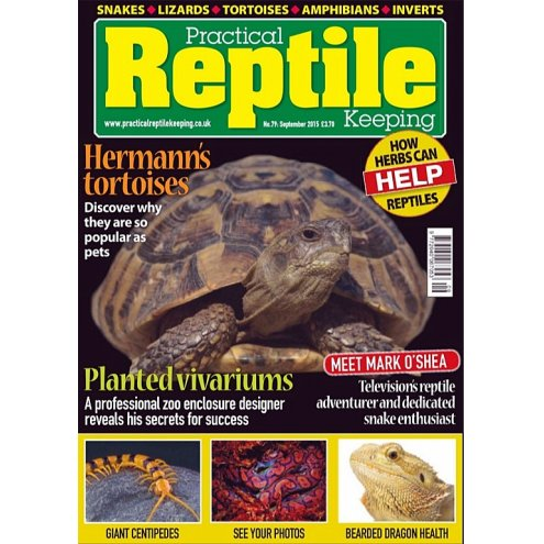 Practical Reptile Keeping September 2015