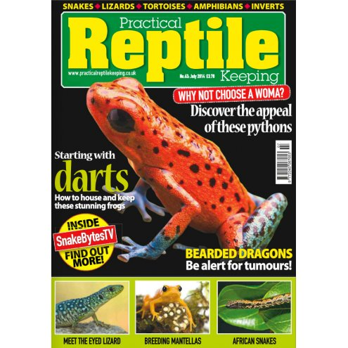 Practical Reptile Keeping July 2014