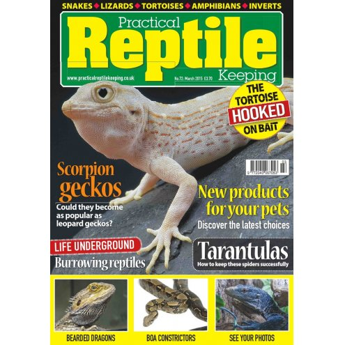 Practical Reptile Keeping March 2015