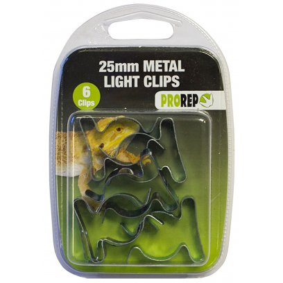 ProRep 25mm/1inch Metal Light Clips (Pk.6)