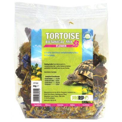 ProRep Tortoise Botanical Flower Mix 60g