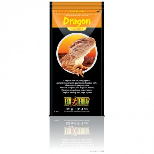 Exo Terra Bearded Dragon Food Juv 325g