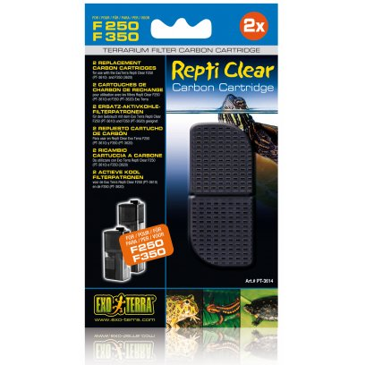 Exo Terra Repti Clear 250/ 350 Carbon Cartridge