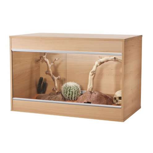 Vivexotic Repti-Home Vivarium - Maxi Medium Beech 86x49x56cm