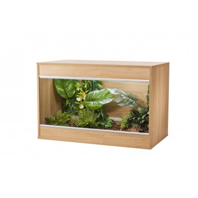 Vivexotic Repti-Home Vivarium - Maxi Medium Oak 86x49x56cm