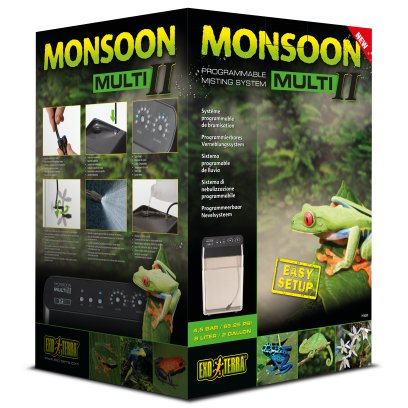 Exo Terra Monsoon Multi II Misting System