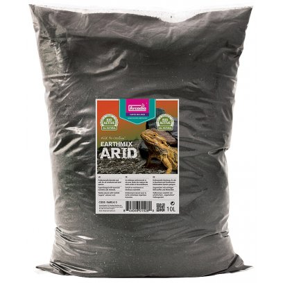Arcadia Earth Mix Arid Substrate 10 Litres