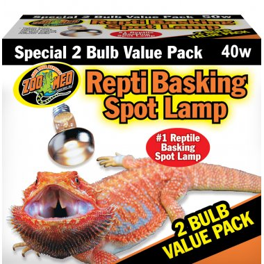 Zoo Med Repti Basking Spot VALUE PACK 2x 40W