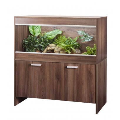 Vivexotic Repti-Home Vivarium & Cabinet - Maxi Large Walnut