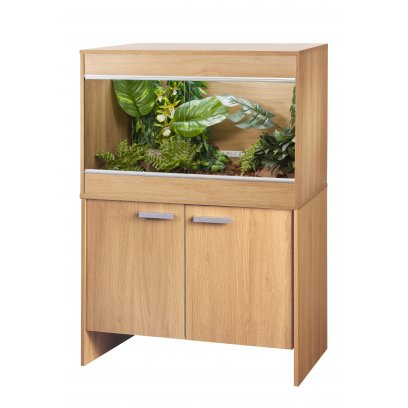 Vivexotic Repti-Home Vivarium & Cabinet - Maxi Medium Oak