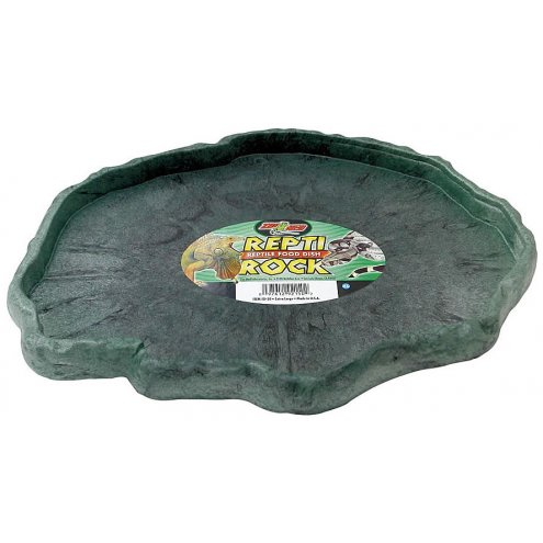 Zoo Med Repti Rock Feed Dish X-Large 320 x 230mm