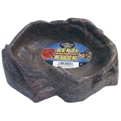 Zoo Med Repti Rock Water Dish Large 230 x 160mm