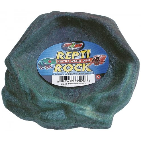 Zoo Med Repti Rock Water Dish Small 140 x 140mm