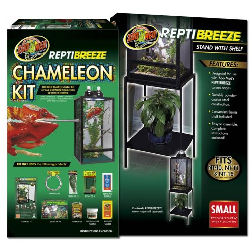 Zoo Med ReptiBreeze Chameleon Kit & Stand